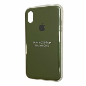 Army Green Silicone iPhone XS Max case